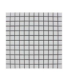 Pool Matt White 23x23mm Mosaic