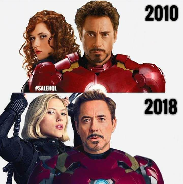 Iron man and black widow  #cosplayclass #marvelcomics