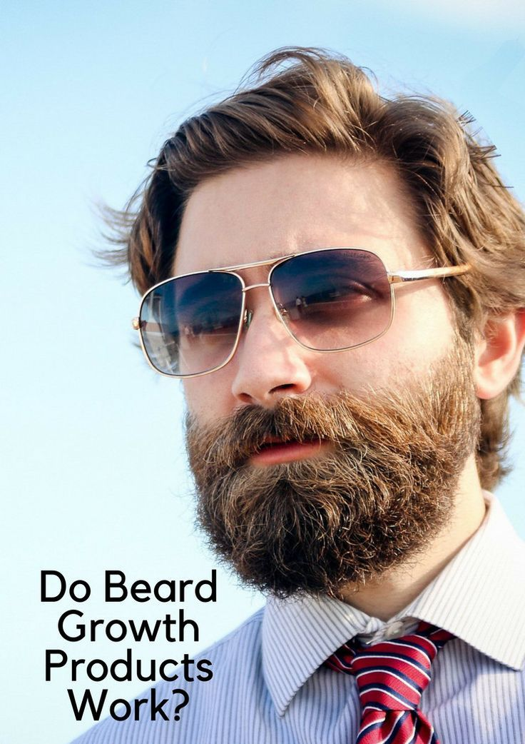 Do beard growth products work? Learn about which ones are most effective!