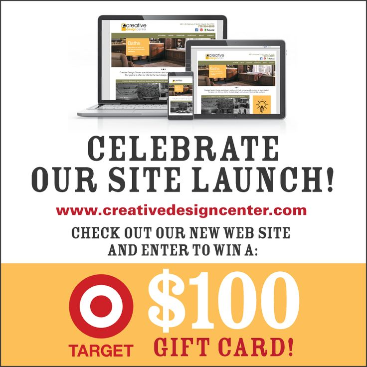 Enter to Win a $100 Target Gift Card! Celebrate the launch of our new website and enter to win a $100 Target Gift Card! http://woobox.com/mqnpcw