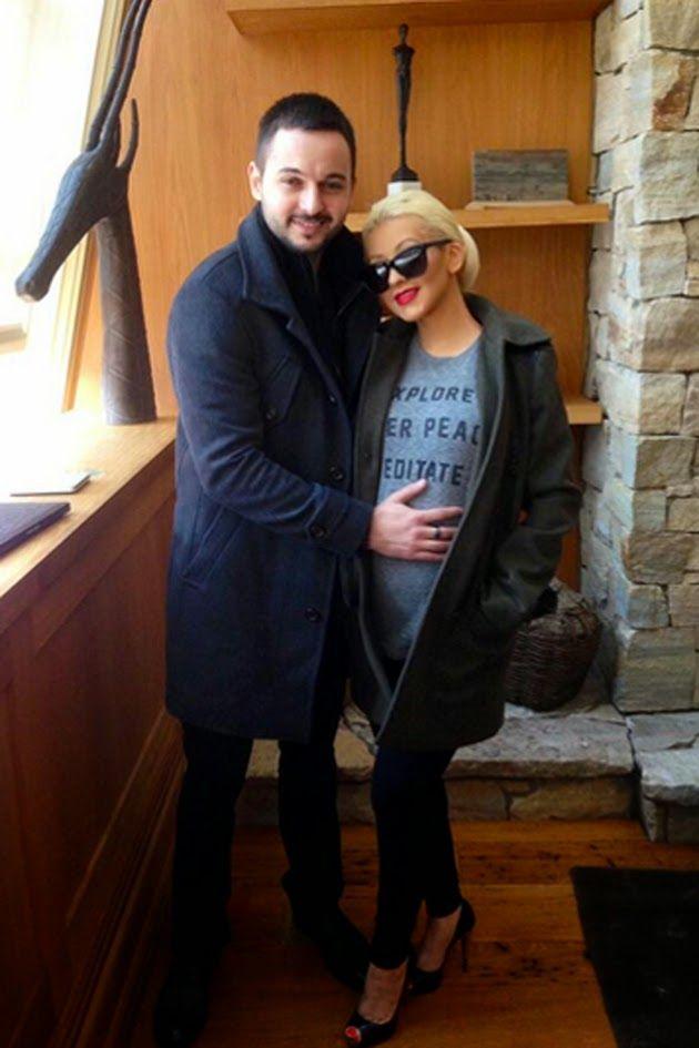 Juventul al Dia: Christina Aguilera presume de su segundo embarazo ...