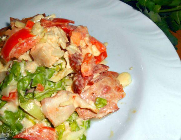 Очень вкусный салат.