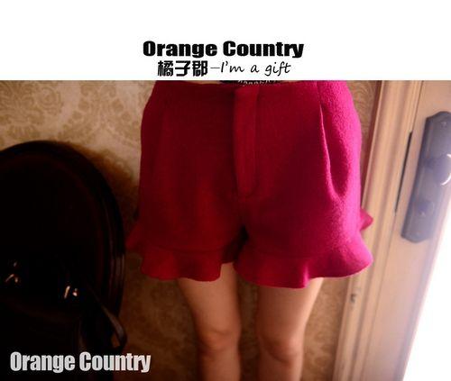 EY40019-RED | Butik Online Fashion Import Murah | Supplier Baju dan Tas Import ™