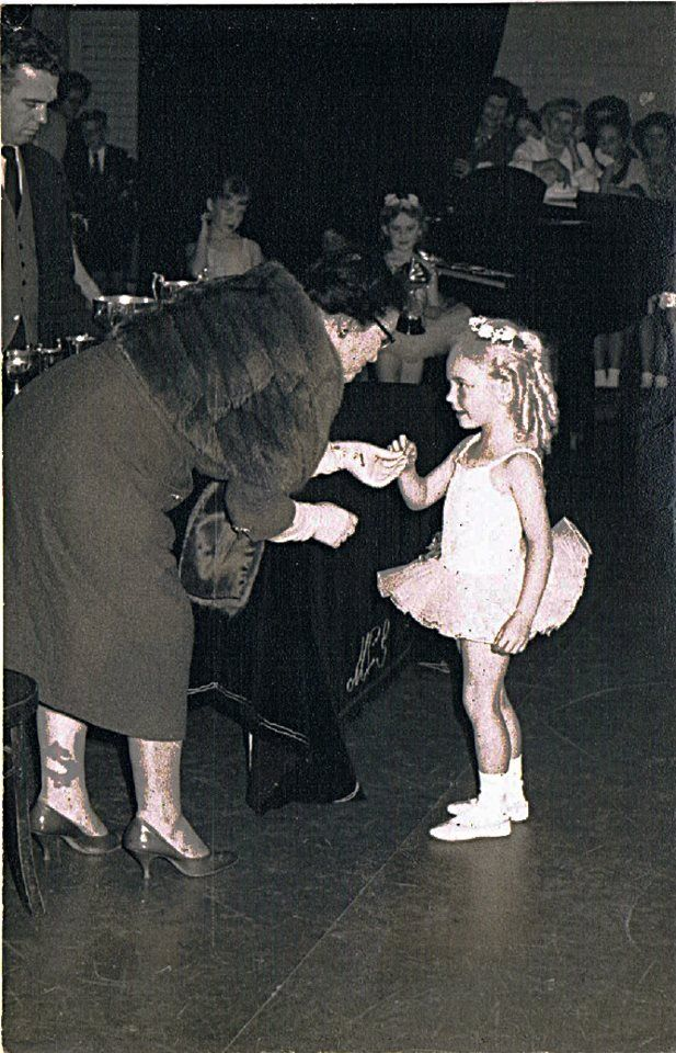 Me receiving a medal for ballet in Palmerston North New Zealand 1964. I was 5 years old.