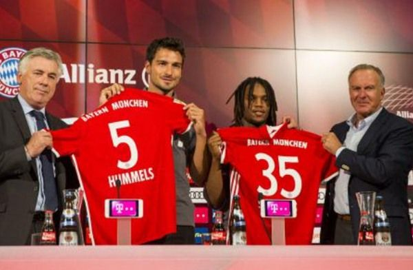 Bayern Resmi Perkenalkan Mats Hummels dan Renato Sanches
