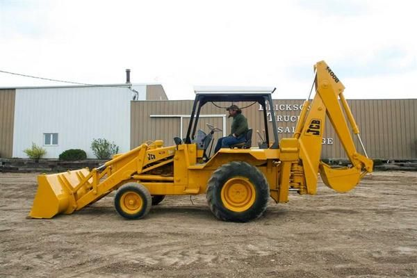 Backhoe loader #excavator use for ground work