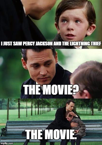 Image result for pjo movie meme