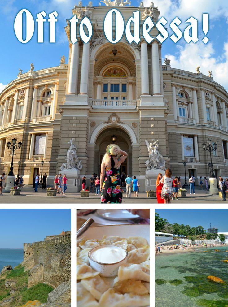 Odessa, Ukraine on the Black Sea has it all – history, beaches, architecture, cuisine.