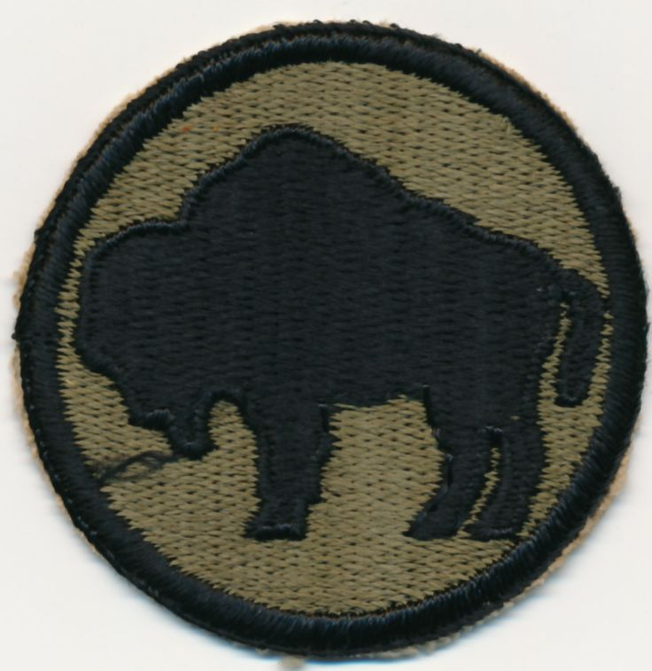 92nd Infantry Division Insignia WWII