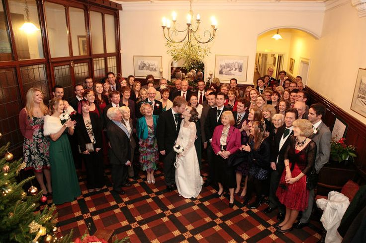 Group wedding photo at Mountains Country House