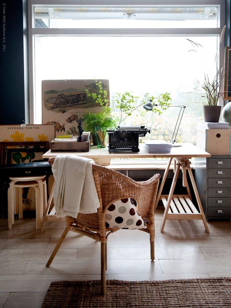 Möbler och material i harmoni | Nina Nilsson | inspiration från IKEA