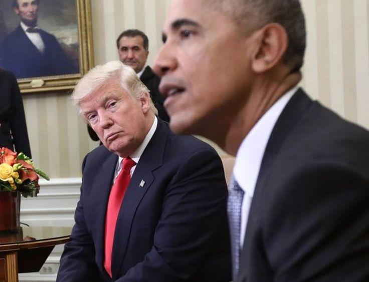 World America Donald Trump Visits White House Meet Obama
