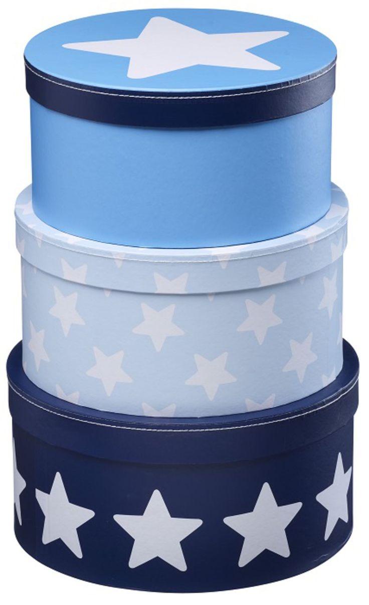 Kids Concept Pappbox Star Blå | Barnrummet Förvaring | Jollyroom