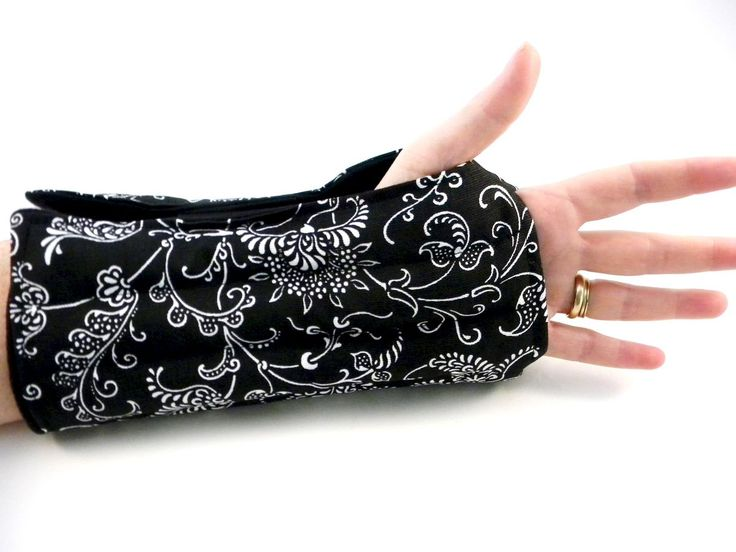 Microwave Wrist Wrap or Cold Wrap for Wrists Arm, Carpal Tunnel, Tendonitis Help with Hot Cold Wrist Packs - Microwave Heat Pads, Hot Cold Packs, Microwavable Heating Bags from HotColdComfort