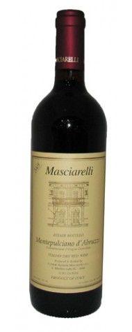 Masciarelli Montepulciano d'Abruzzo 2009 -  www.BedAndBreakfastItalia.com - #AbruzzoWine #ItalianWine #Wine