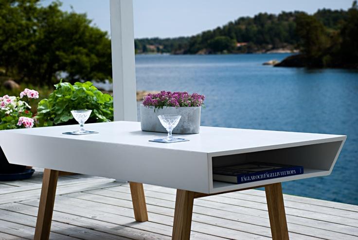 Coffee table Sidni. Furniture design by Björn Welander @WELANDER DESIGN
