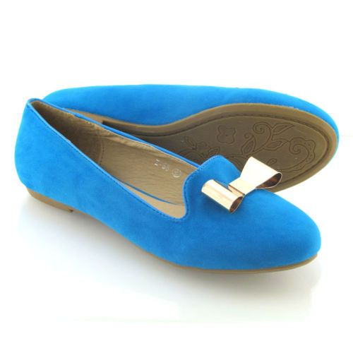 NEW WOMENS FLAT PUMPS LADIES BALLERINA BOW LOAFERS SLIPPERS CASUAL SHOES SIZE | eBay