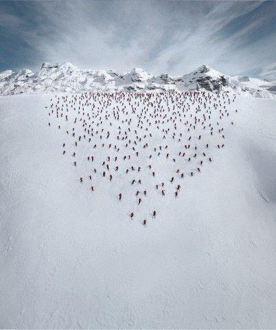 winter from sky - Fotochannels