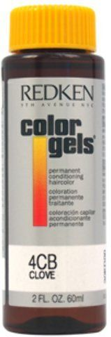 Redken - Color Gels Permanent Conditioning Haircolor 4CB - Clove (2 oz.) 1 pcs sku- 1898266MA -- Click image for more details. #hairmake