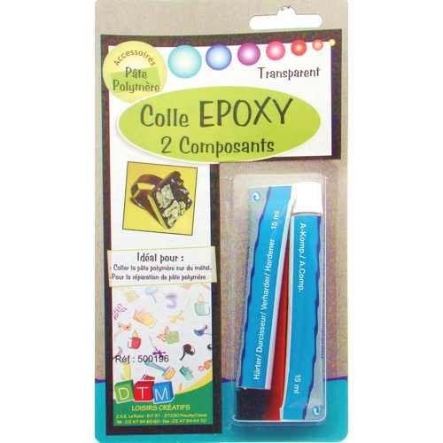 Colle Epoxy pour Fimo