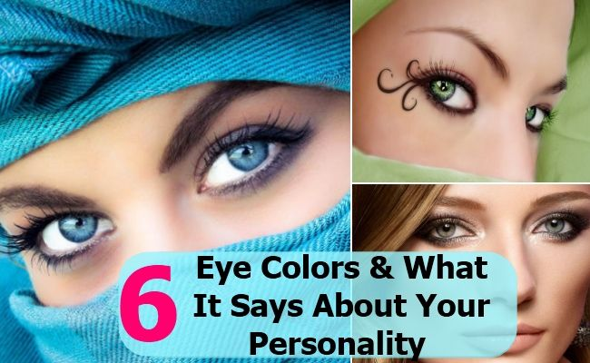 6 Eye Colors And What It Says About Your Personality
