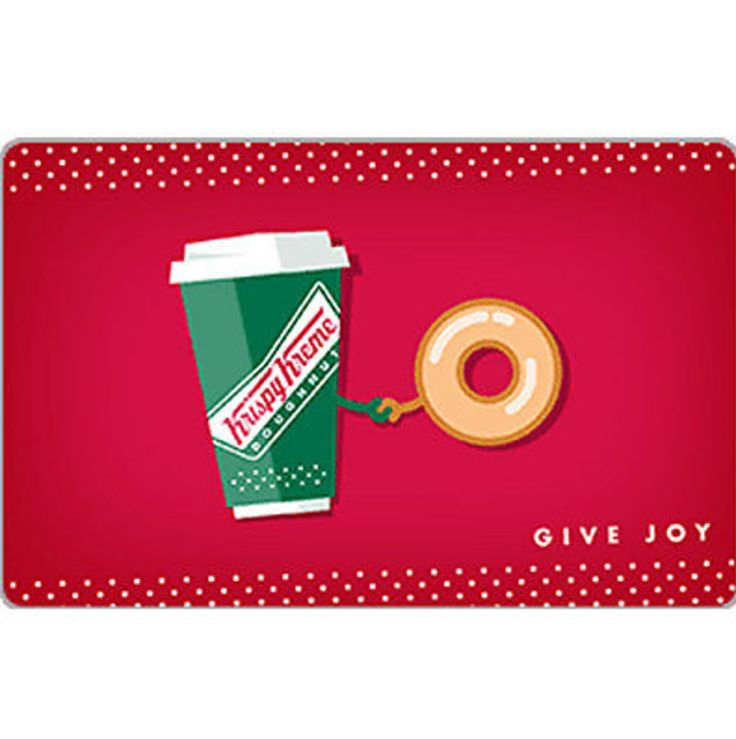 awesome Buy a $25 Krispy Kreme Doughnut Corporation Gift Card for $20 - Email Delivery   Check more at http://harmonisproduction.com/buy-a-25-krispy-kreme-doughnut-corporation-gift-card-for-20-email-delivery/