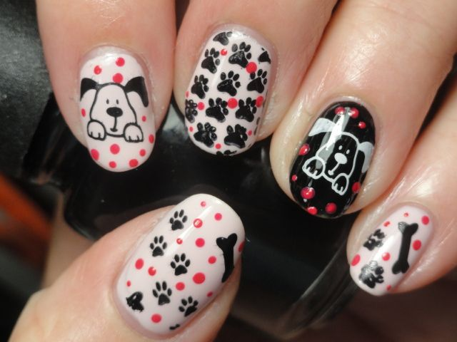 69 best Doggy Nail Art images on Pinterest | Dog nails ...