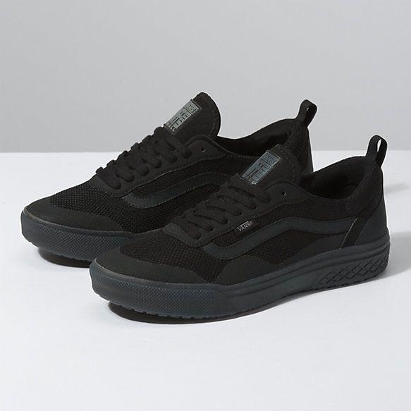 Vans, Vans store, All black sneakers