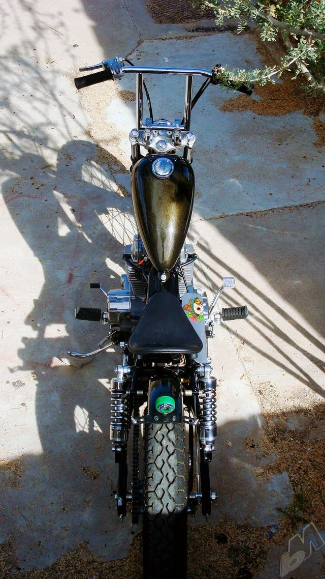 mustache ride | honda rebel brat bobber by machine-13