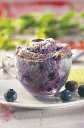 Quick Blueberry Souffles