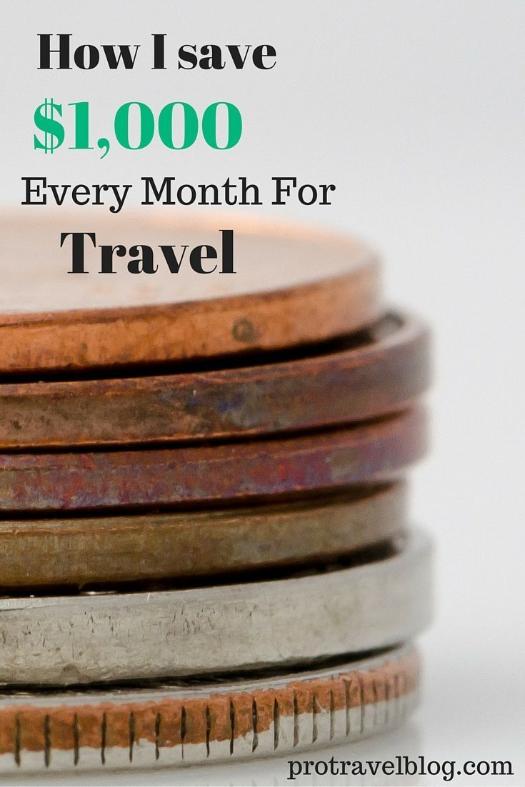 I save $1000 every month that I put towards travel!! Here are all my tricks and tips on saving a lot of money fast!