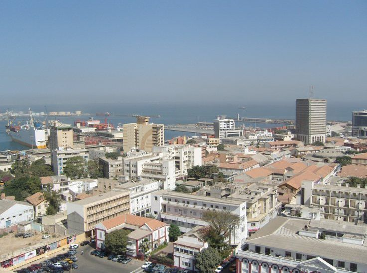 Dakar City Centre And The Docks