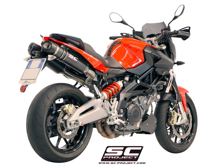 APRILIA SHIVER 750 EXHAUST BY SC-PROJECT