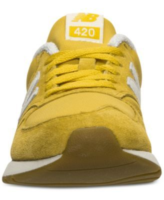new balance 420 yellow