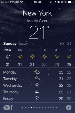 How the weather app is always inaccurate. App, Iphone