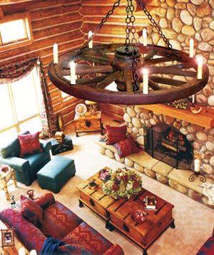 authentic wagon wheel chandeliers love them - Wagon Wheel Chandelier