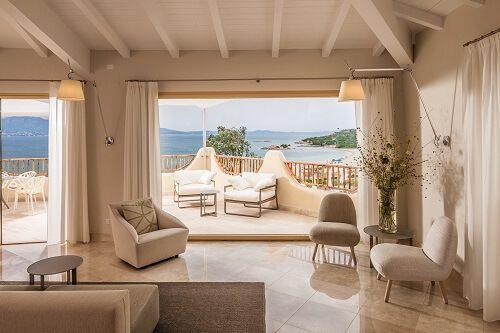 Migliore hotel sul mare in Sardegna - Cala Cuncheddi - Suite