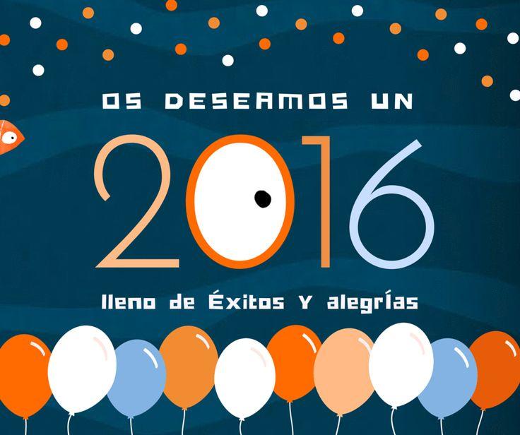 ¡Feliz Año Nuevo a todos! #2016