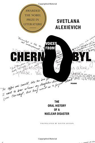 Voices from Chernobyl: The Oral History of a Nuclear Disaster by Svetlana Alexievich http://smile.amazon.com/dp/0312425848/ref=cm_sw_r_pi_dp_y-TKwb0B6Z4R3