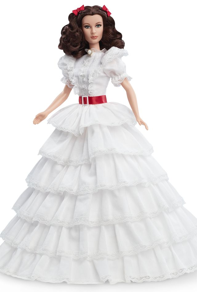 """Known as the """"ruffle dress"""" and the """"prayer dress,"""" the gown features six cascading tiered ruffles made from fine-woven Dobby cotton and edged with lace."""