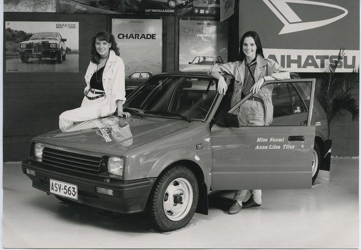 Miss Suomi 1984 Anna-Liisa Tilus ja Miss Suomi 1983 Nina Rekola #misssuomi