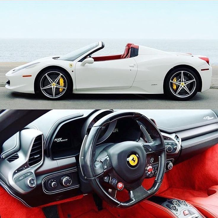 😍FOR SALE😍 **LOWEST ON THE MARKET** •2013 Ferrari 458 Spider •Carbon Fiber Race Seats •31,000 Miles •Location: Southern California 🏁PRICE: $210,000 - TEXT (424) 256-6861🏁