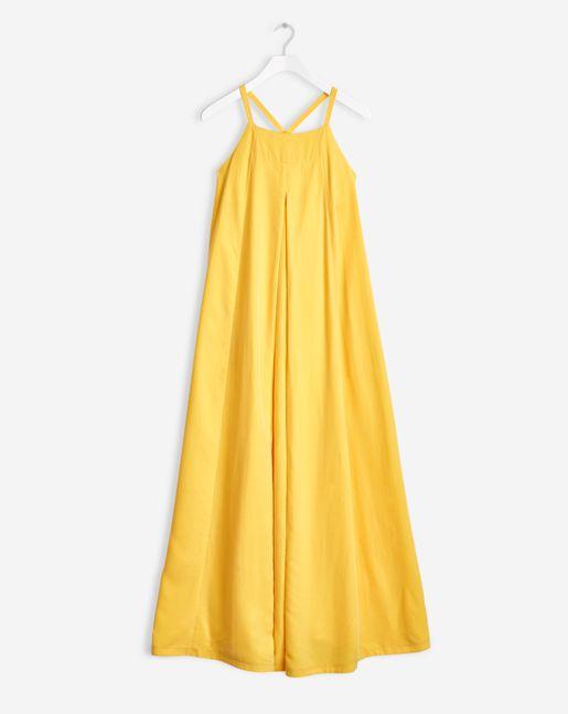 Filippa K   Maxi trapeze dress sunglow