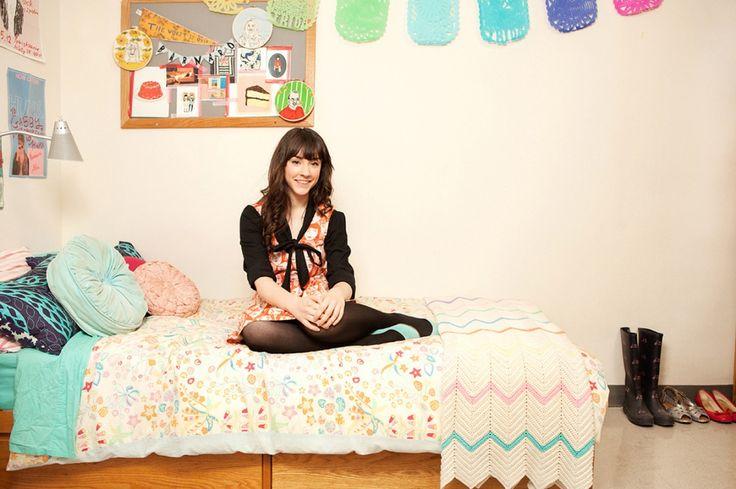 explore college girl bedrooms