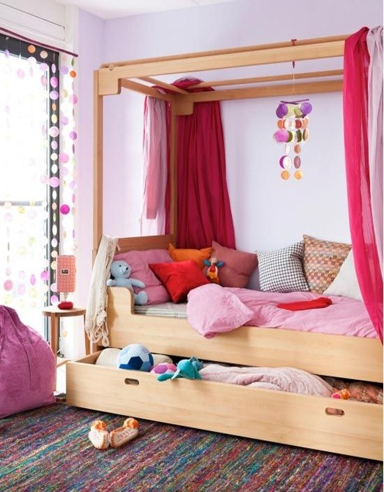 Colorful girl's room