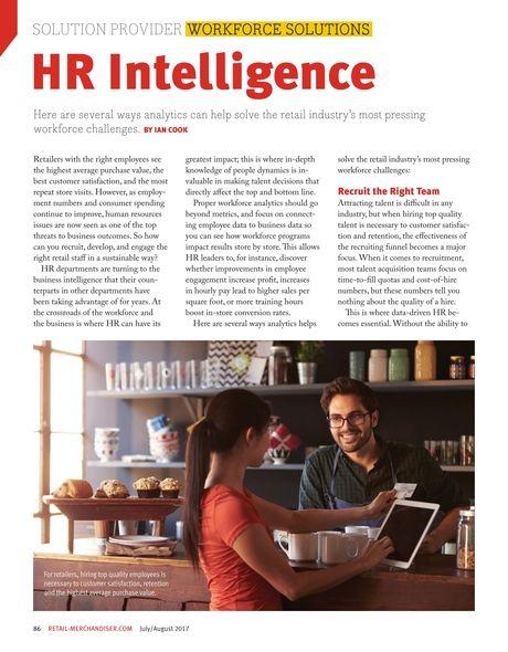 HR Intelligence. #WorkforceSolutions #SolutionProvider