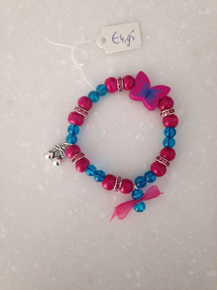 Een persoonlijke favoriet uit mijn Etsy shop https://www.etsy.com/nl/listing/538116243/armband-meisje-met-vlinder-strik-en