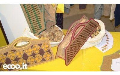 Riciclo creativo sughero e carta: le borse ecosostenibili