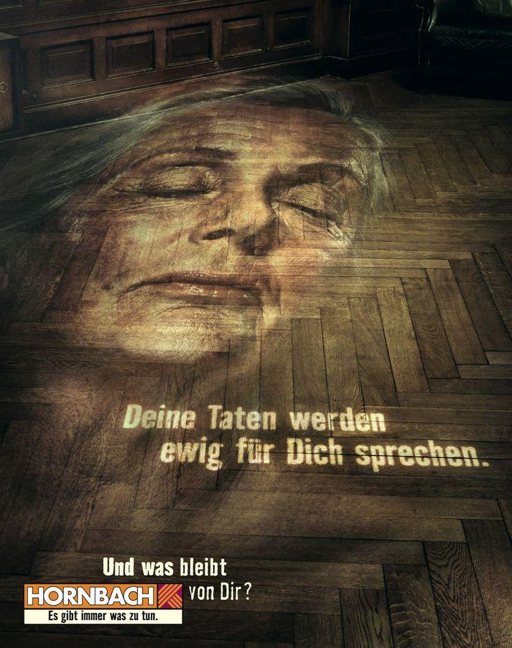 Kampagne: Und was bleibt von dir? — Unternehmen: #Hornbach #Baumarkt — Agentur: #Heimat #Werbeagentur — Jetzt noch mehr Kampagnen pur im Fischer`s Archiv No. 210 www.fischers-archiv.de