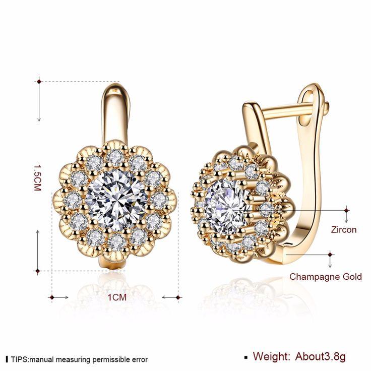 Золото Цвет Пять Круглый синие кристаллы цветочные круги петли небольшие серьги обруча Huggie для женщин, детей для маленьких девочек ювелирные изделиякупить в магазине Rose Fashion Jewelry CO., LTD.наAliExpress